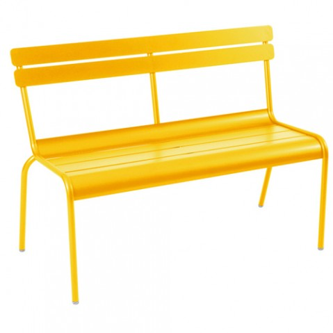 banc 2 3 places luxembourg fermob miel