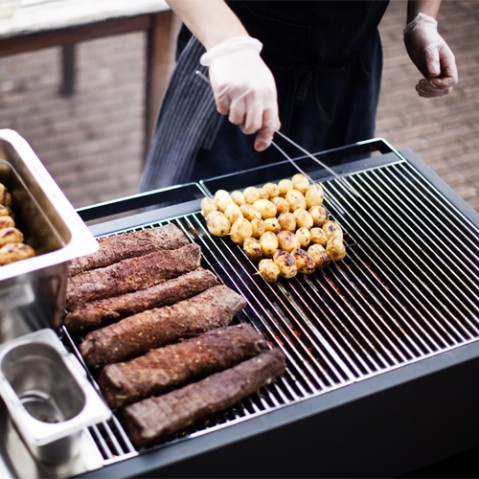 barbecue charbon grill 100 roshults