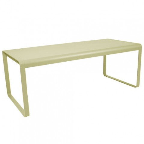 bellevie fermob table vert tilleul
