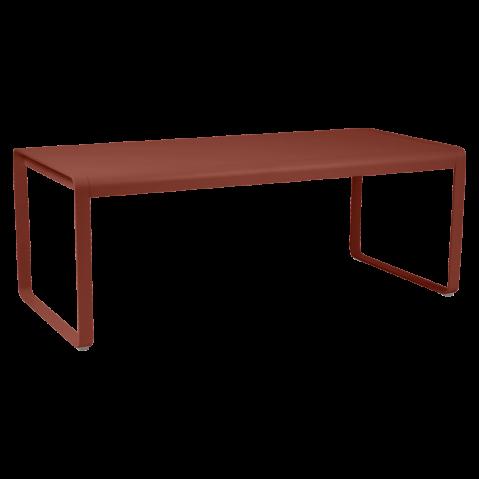 TABLE BELLEVIE, Ocre rouge de FERMOB