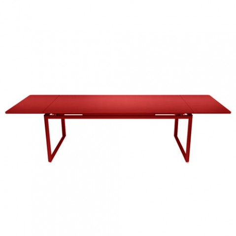 Biarritz Table A Allonges Design Fermob Coquelicot
