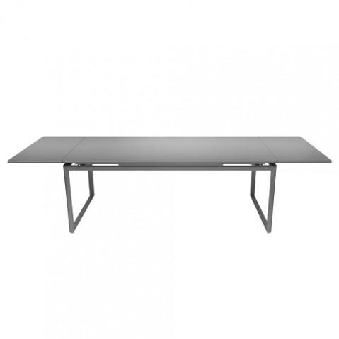 Biarritz Table A Allonges Design Fermob Gris Metal