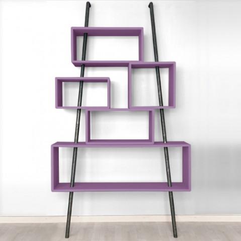 bibliotheque la folie laurette violet