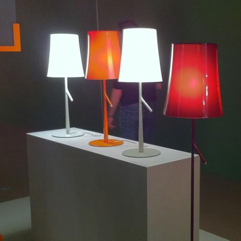 Birdie Foscarini lampe design rouge