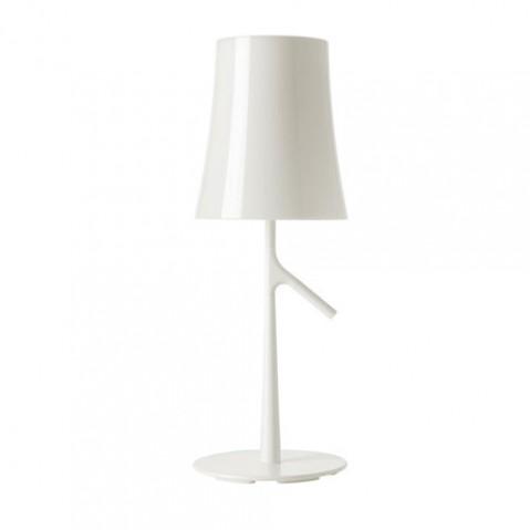 Birdie piccola foscarini lampe à poser design blanc