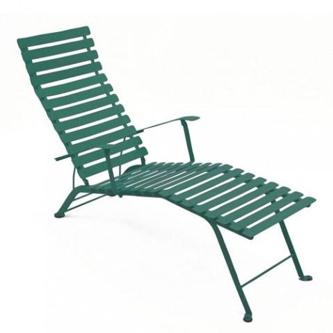 Bistro Chaise Longue Design Fermob Cedre