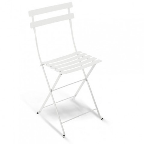 Bistro Lot de 2 Chaises Design Fermob Blanc