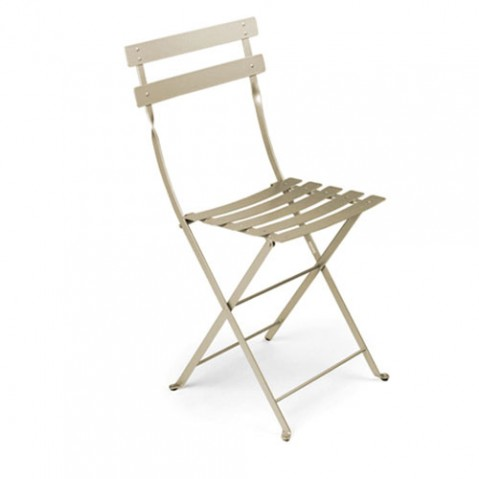 Bistro Lot de 2 Chaises Design Fermob Muscade