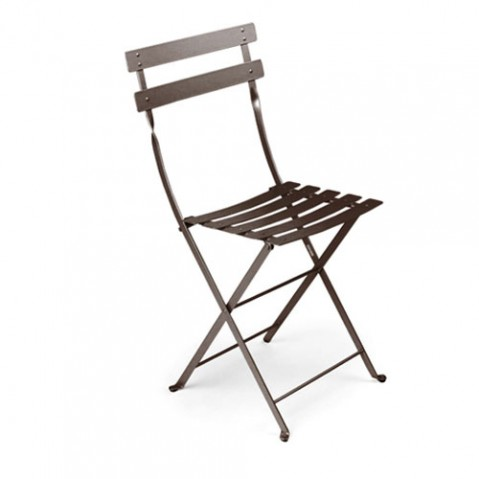 Bistro Lot de 2 Chaises Design Fermob Rouille