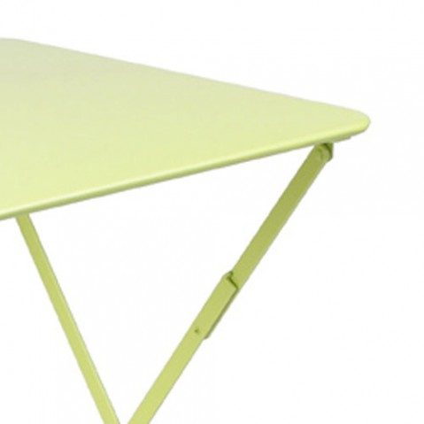 bistro fermob table 57x57 design blanc