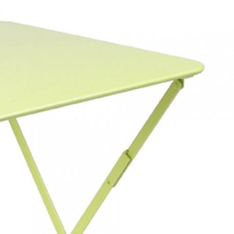 Bistro fermob table  57x57 design gris orage