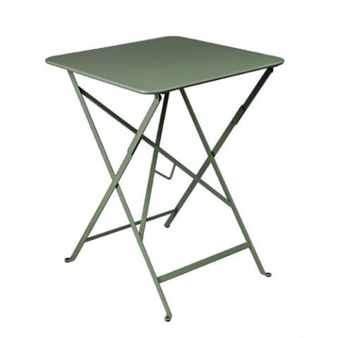 table pliante bistro 57x57cm Fermob romarin