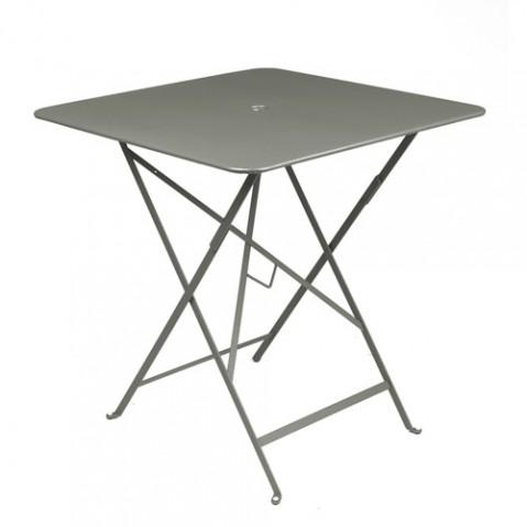 Table pliante Bistro 71x71 Fermob romarin