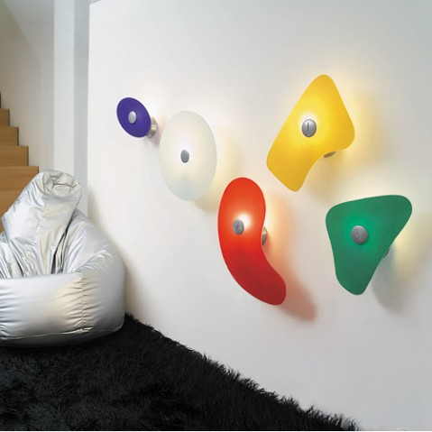 Bit 5 Applique Murale Foscarini Orange