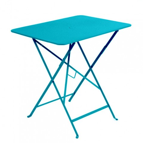 TABLE PLIANTE BISTRO 77 X 57CM, 23 couleurs de FERMOB