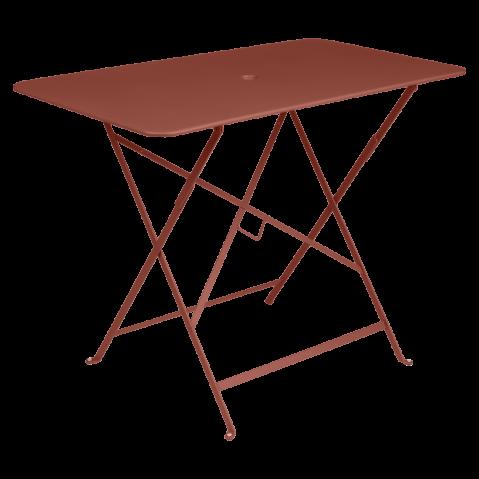 TABLE BISTRO 97X57 CM, Ocre rouge de FERMOB