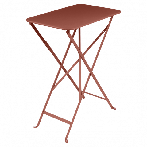 TABLE PLIANTE BISTRO 37X57 CM, Ocre rouge de FERMOB