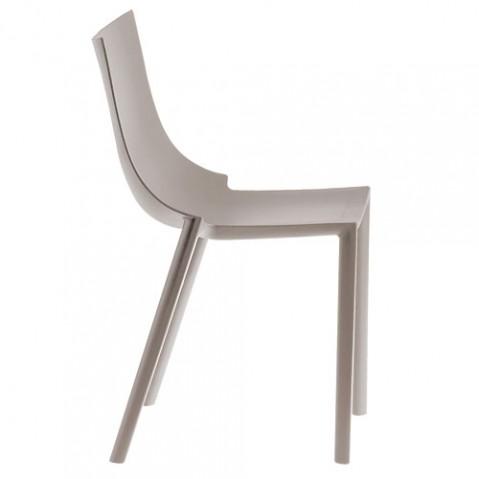 chaise bo driade gris