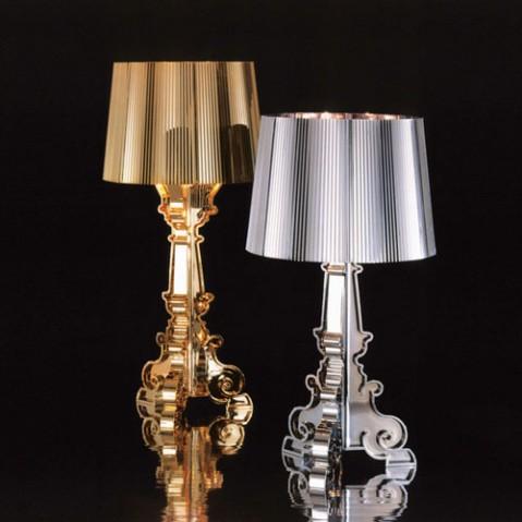 Bourgie Lampe à Poser Design Kartell Argent