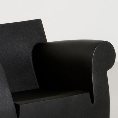 Bubble Club Kartell fauteuil design noir