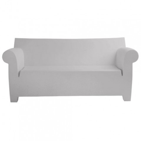 bubble club kartell canapé design gris