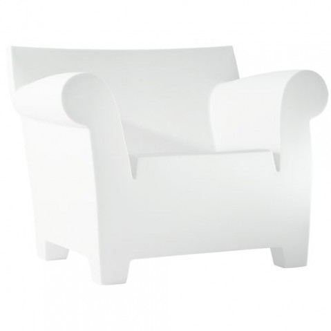 Bubble Club Kartell fauteuil design blanc