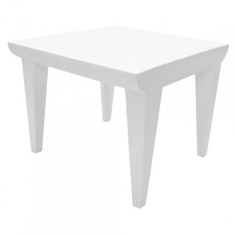 Bubble Club Kartell table basse design blanc