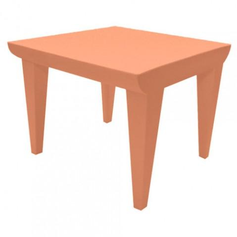 Bubble Club Kartell table basse design terre de sienne