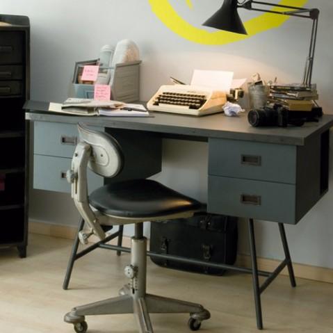 bureau l50 laurette gris