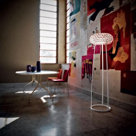 Caboche Grande lampadaire Design Foscarini Or