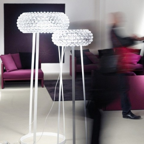 Caboche Media Lampadaire Design Foscarini Or