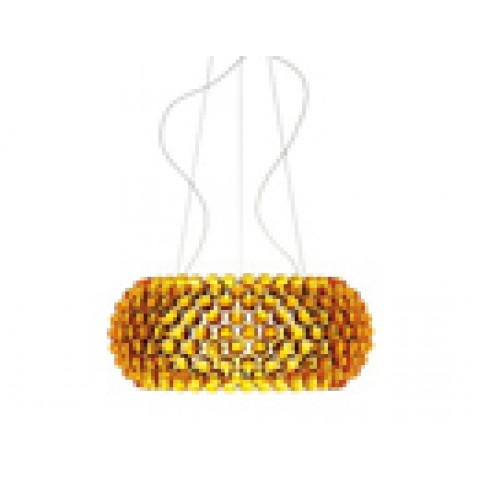 Caboche Grande Suspension Foscarini Or