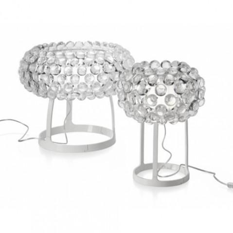 Caboche Piccola Lampe à Poser Design Foscarini Transparent
