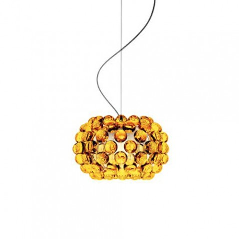Caboche piccola Suspension Foscarini Or