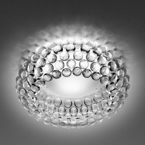 Caboche Plafonnier Design Foscarini Transparent