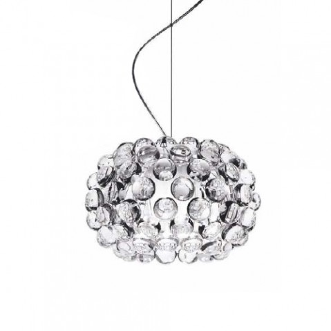 CABOCHE PICCOLA - SUSPENSION, 2 couleurs de FOSCARINI