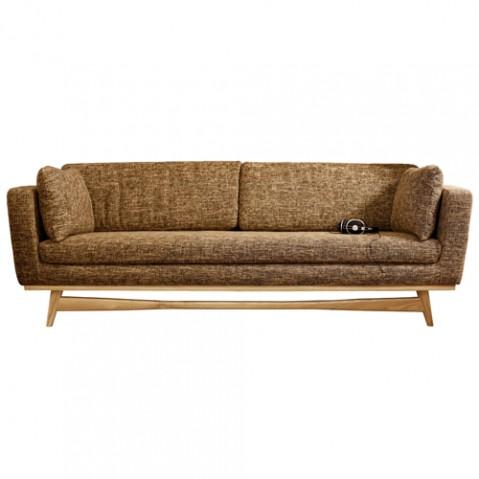 canape fifties 210cm beige fonc chin de red edition. Black Bedroom Furniture Sets. Home Design Ideas