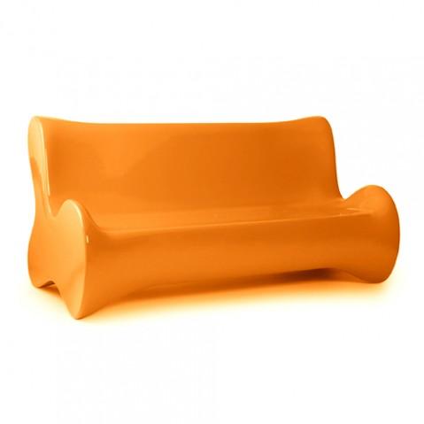 canape doux vondom orange