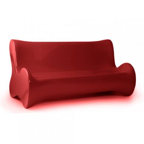 canape doux vondom rouge