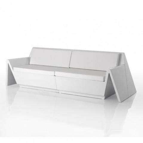canape rest vondom blanc mat