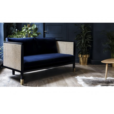 canap cannage 160 6 couleurs de red edition. Black Bedroom Furniture Sets. Home Design Ideas