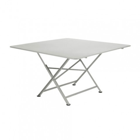 cargo fermob table design gris metal