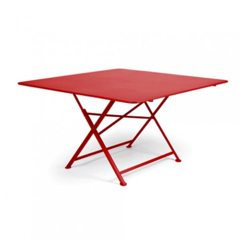 Cargo Table Pliante Design Fermob Coquelicot