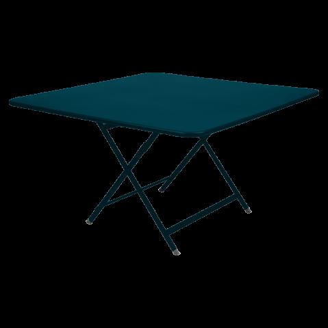 TABLE CARACTÈRE, Bleu acapulco de FERMOB