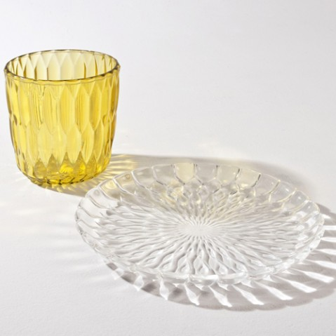 centre table jelly kartell jaune