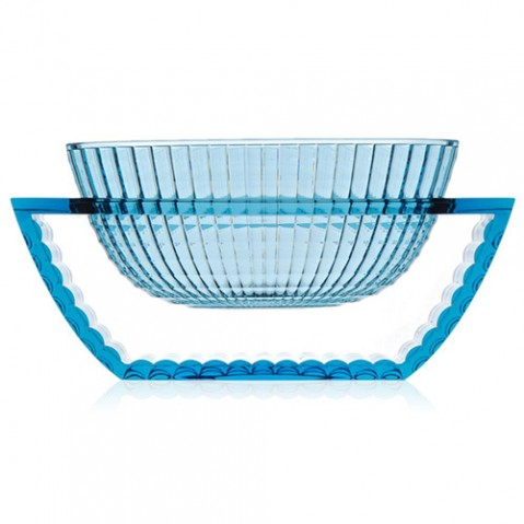 centre table u shine kartell bleu