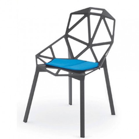 Chair One Coussin D'assise Design Magis Bleu