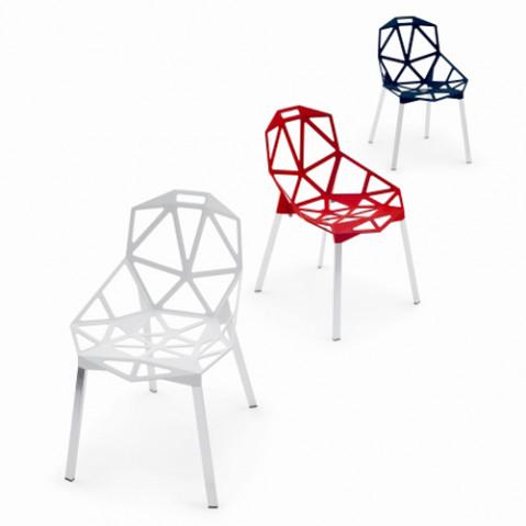 Chair One Chaise 4 pieds Magis Blanc