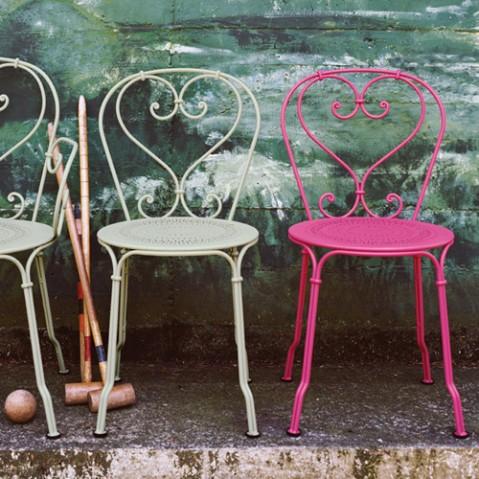 chaise 1900 fermob blanc