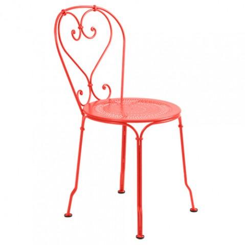 chaise 1900 fermob capucine